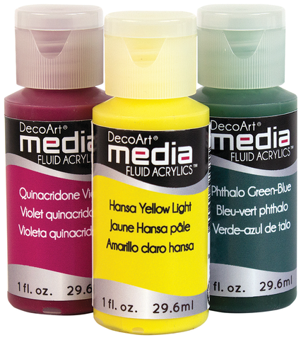 DecoArt Media Fluid Acrylic