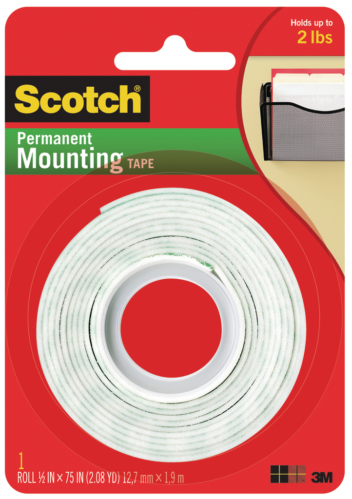 Scotch Permanent Foam Tape