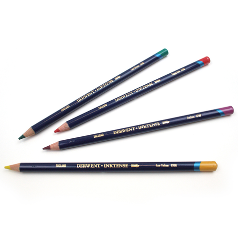 Inktense Watersoluble Ink Pencils