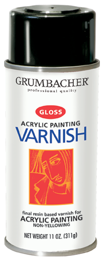 Hyplar Gloss Spray Varnish - 11oz