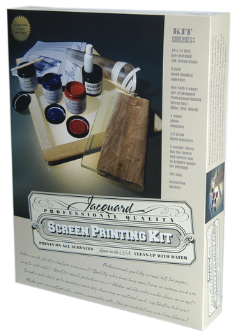 Jacquard Semi-Transparent Colors Screenprinting Kit