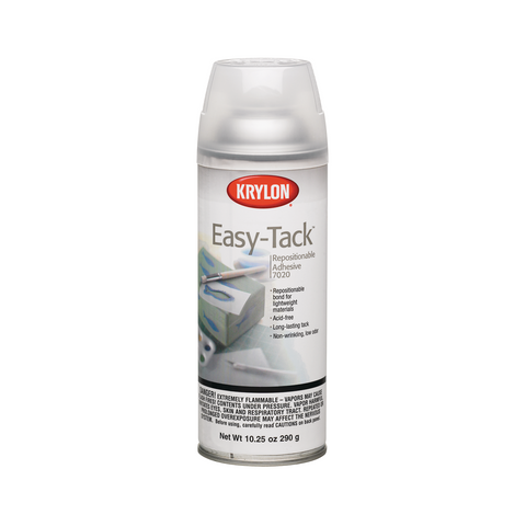 Krylon Easy Tack Repositionable Spray Adhesive - 10.25oz