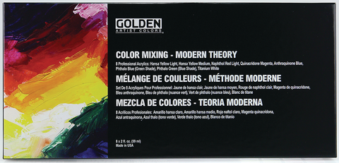 Color Mixing Set - Modern Theory
