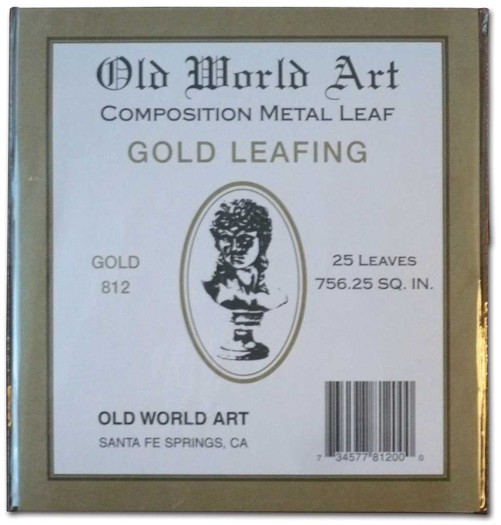 Old World Art Metallic Leafing Sheets