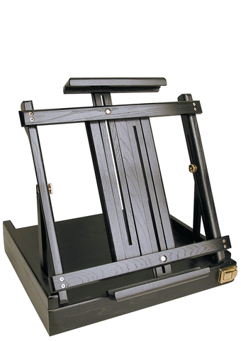 Art Alternatives Ravenna Sketchbox Easel Black