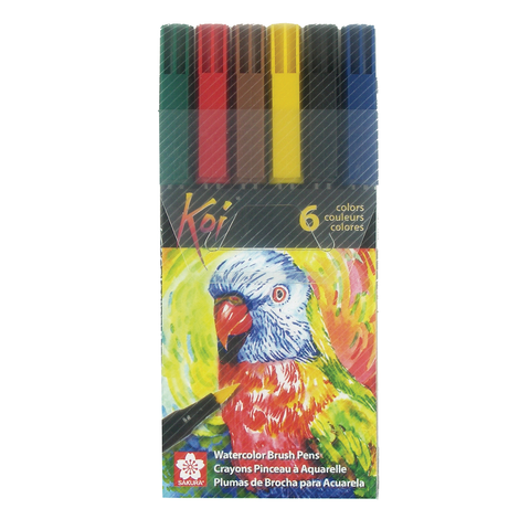 Koi Coloring Brush Pen Sets