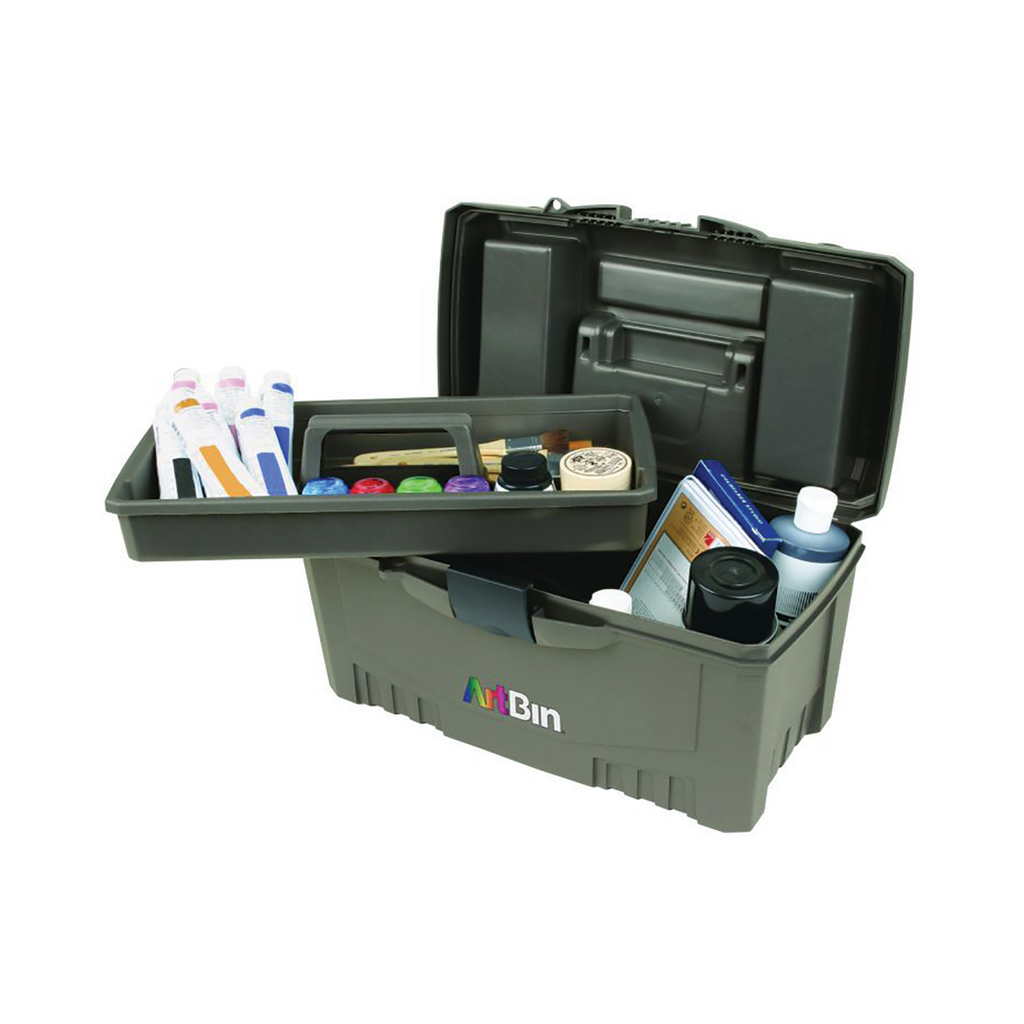 Twin Top Storage Box (With Lift-Out Tray)