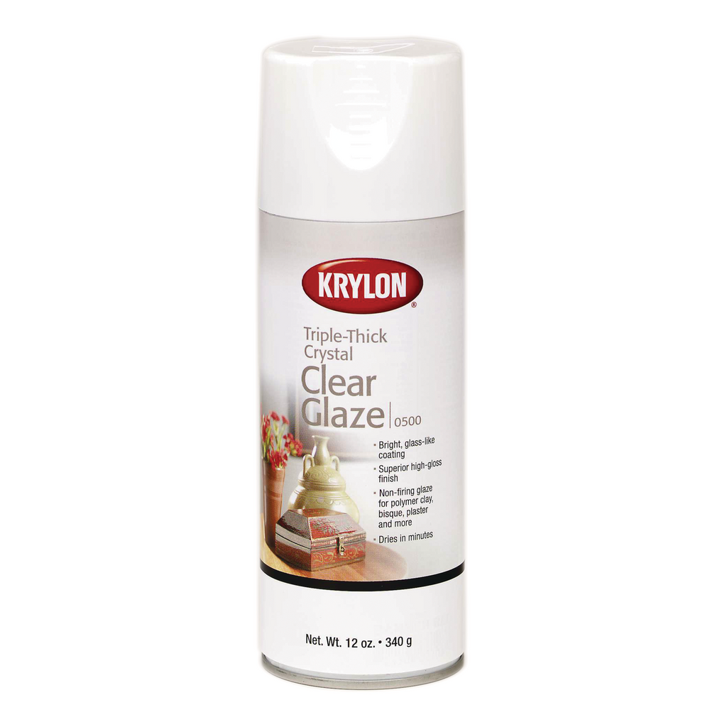 Krylon Crystal Clear Triple Thick Spray - 11oz