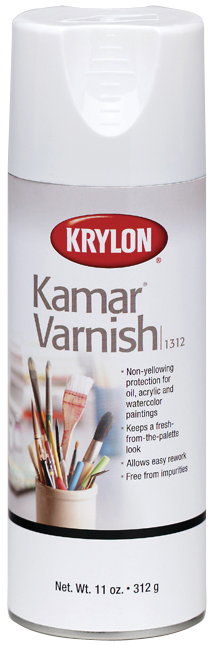 Kamar Spray Varnish - 11oz