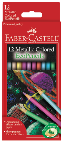Faber Castell Metallic Colored EcoPencils Set