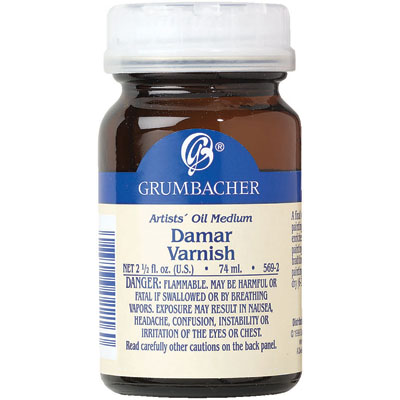 Damar Varnish - 2.5oz
