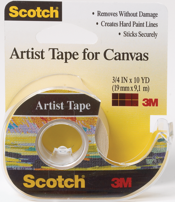 Scotch Artist Tape for Canvas