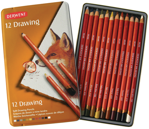 Derwent Drawing Colored Pencil Sets