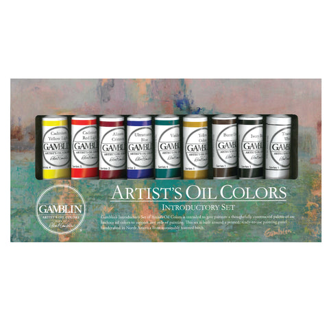 Gamblin Artists' Oils Introductory Set