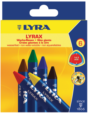 Lyrax Wax Giants Crayon Sets