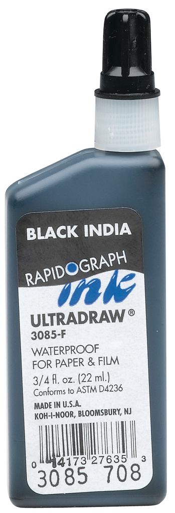 Rapidograph Ultradraw Ink - 22ml bottle