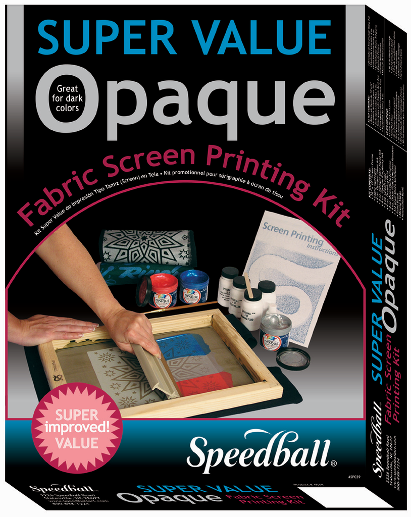 Speedball Opaque Colors Screenprinting Kit