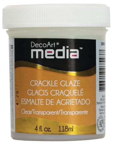 DecoArt Clear Crackle Glaze