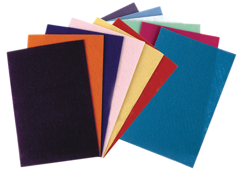 Felt Sheets Assorted Colors