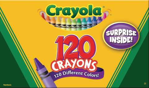 Crayola Giant Box of Crayons!