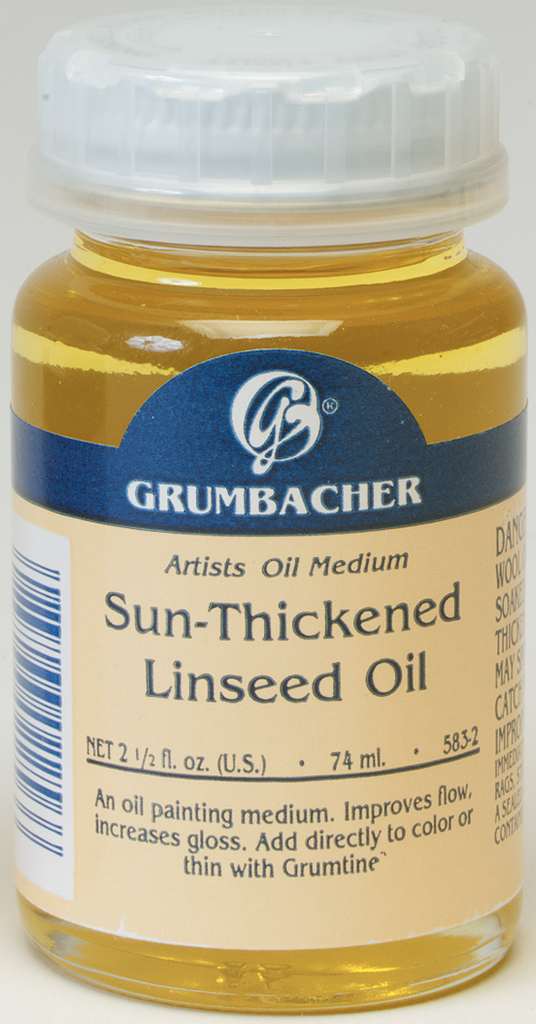 Sun Thickened Linseed Oil - 2.5oz