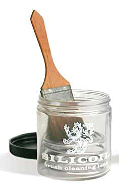 Silicoil Brush Washing Jar