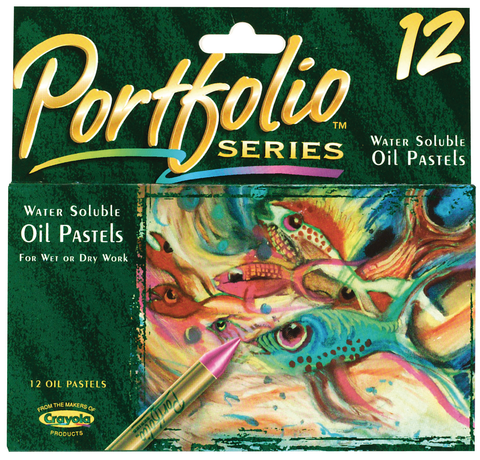 Crayola Portfolio Series Water-Soluble Oil Pastels
