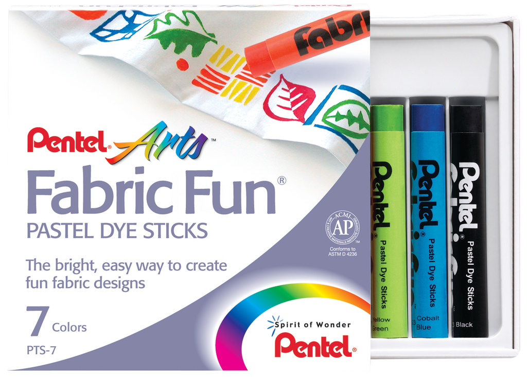 Pentel Arts Fabric Fun Dye Sticks