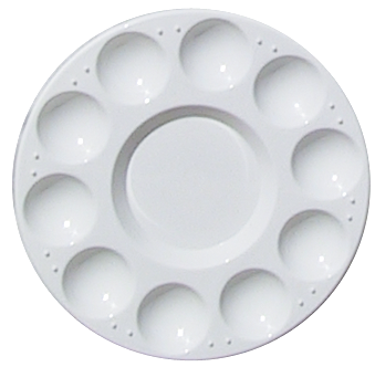 10 Well Round Palette Tray