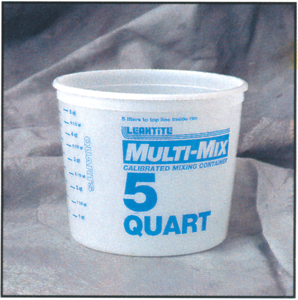 Multi Mix Plastic Pails