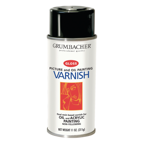 Gloss Spray Varnish - 11oz