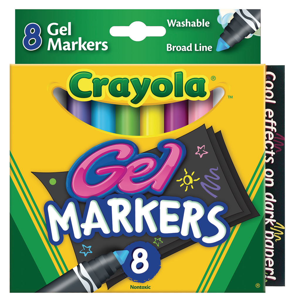 Crayola GelFX Washable Marker Set