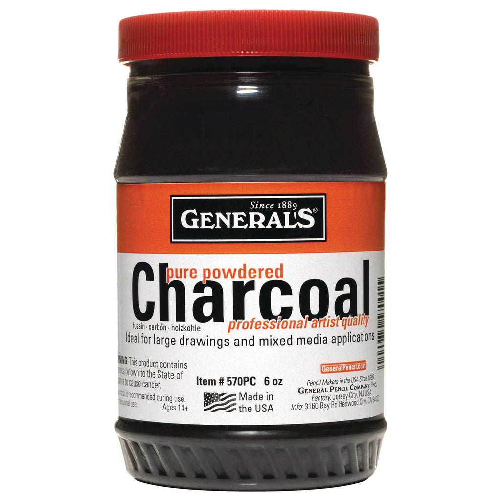 Generals Powdered Charcoal