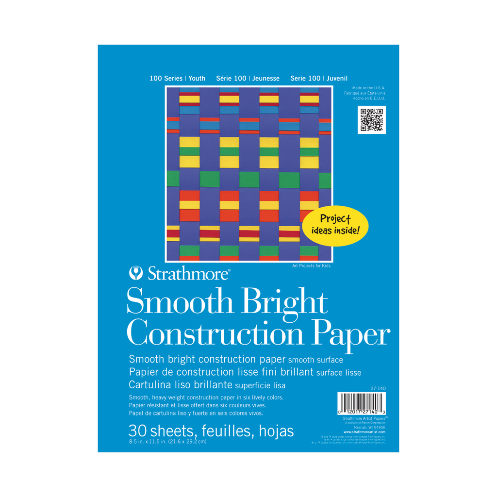 Strathmore Kids Smooth Bright Construction Paper Pad