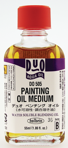 Duo Aqua Oil Painting Medium