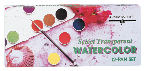 Grumbacher Transparent Watercolor Sets