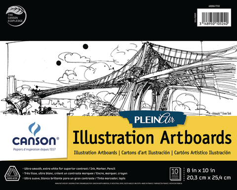 Canson Plein Air Illustration Artboard Pads