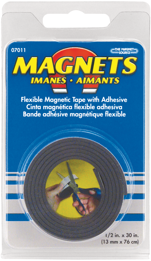 "Magnet Tape Roll 1/2"" Wide"