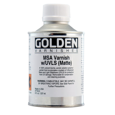 Golden MSA Varnish Matte
