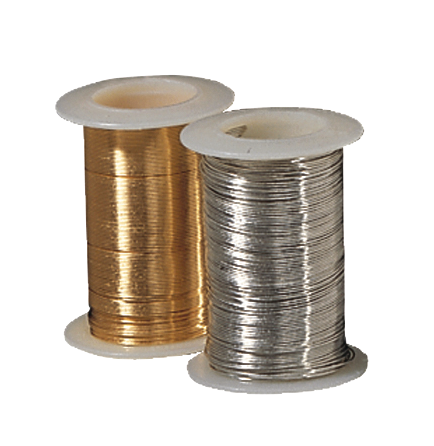 Gold & Silver Craft Wire
