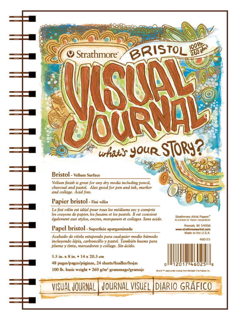 Visual Journal - Bristol Vellum