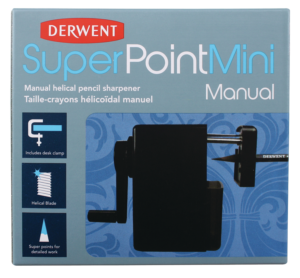 Super Point Mini Manual Pencil Sharpener