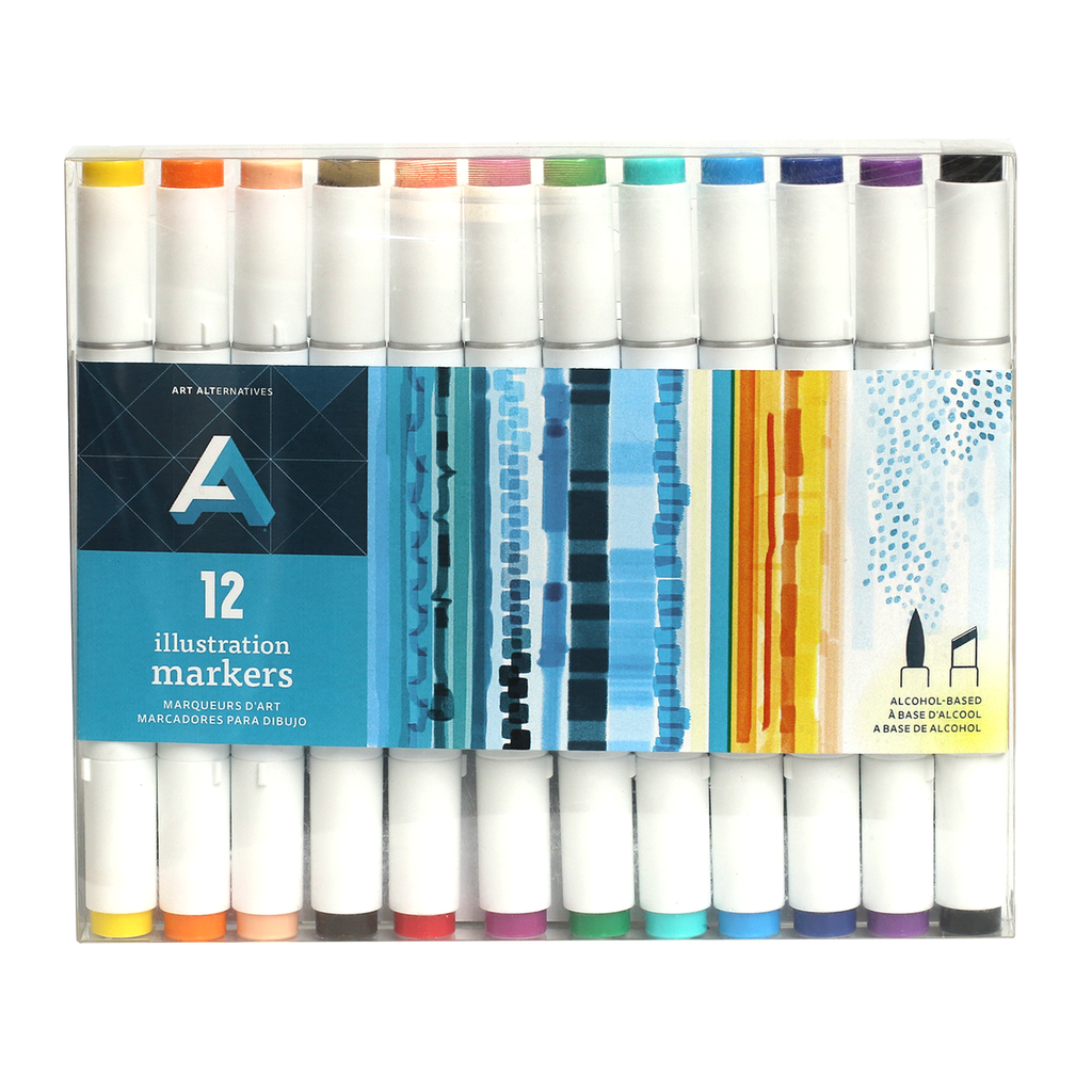 Art Alternatives Illustration Marker Sets