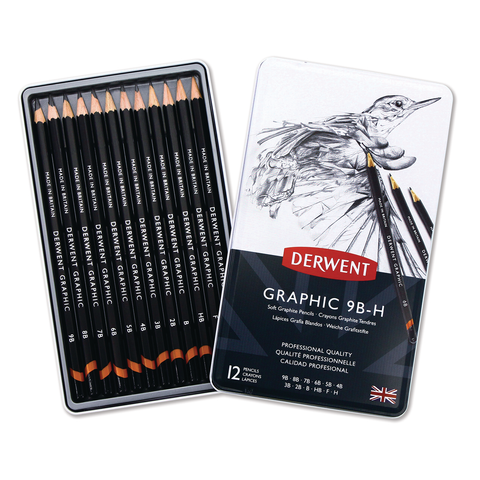 Derwent Graphic Pencil Sketching Set