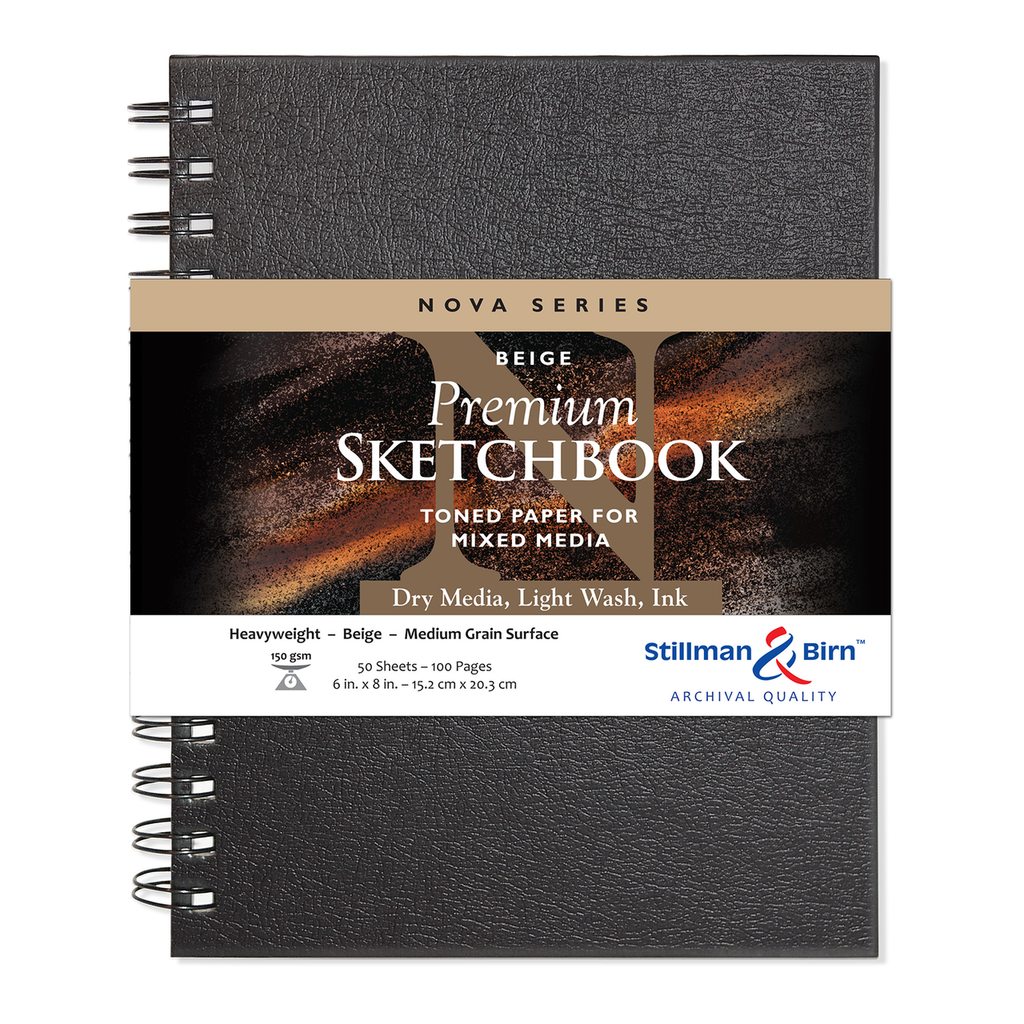 Stillman & Birn Nova Toned Beige Sketchbooks
