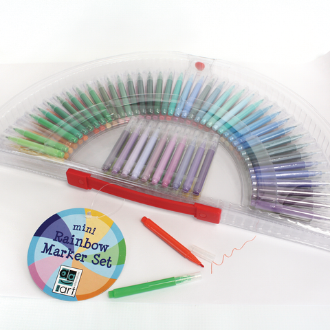 Art Alternatives Rainbow Mini Marker Set