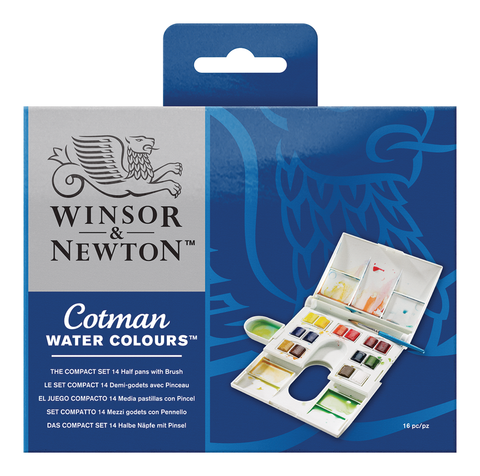 Cotman Water Colours Compact Set