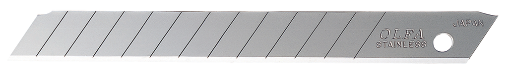 Olfa 9mm Stainless Steel Snap-Off Blade Replacements