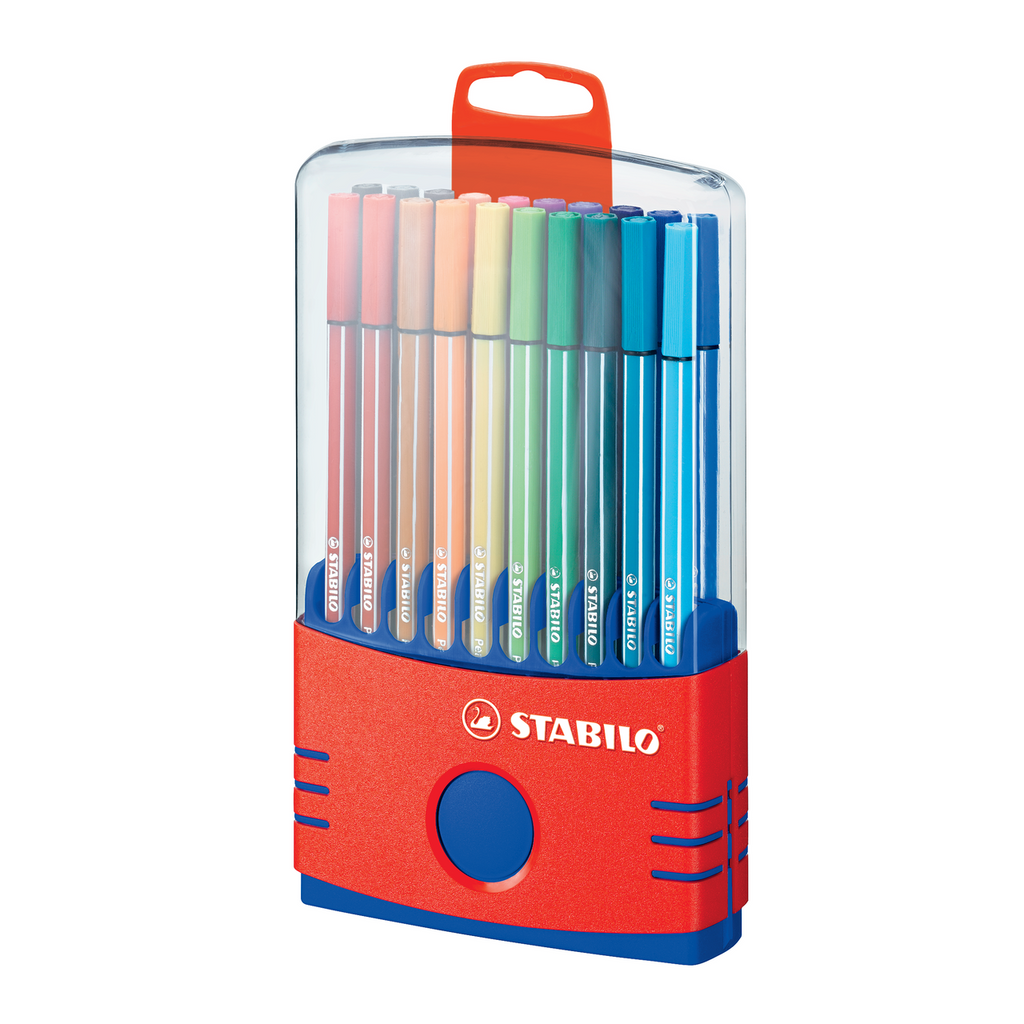 Stabilo Pen 68 Color Parade Set