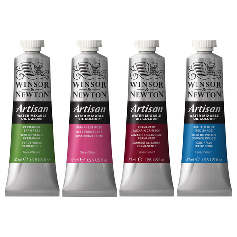 Artisan Water Mixable Oil Colours - 37ml Tubes